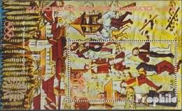 North Yemen (Arab Republic.) Block163 (complete.issue.) Unmounted Mint / Never Hinged 1971 Sports In Medieval - Yemen