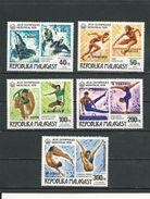 MADAGASCAR  Scott 571-572, C168-C170 Yvert 607-608, PA174-PA176 (5) ** Cote 6,80 $ 1977 Surcharges - Madagascar (1960-...)