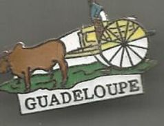 Pins Guadeloupe  Charette A Boeuf - Cities