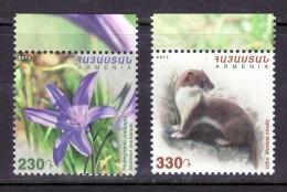Armenien / Armenie / Armenia 2017, Flora And Fauna, Weasel Flower - MNH** - Armenia