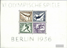 German Empire Block5 (complete Issue) Unmounted Mint / Never Hinged 1936 Summer - Germany