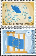 Greece 1854-1855 (complete Issue) Unmounted Mint / Never Hinged 1994 European Union - Nuovi