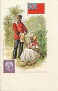 Pays Div-ref K1000 - Illustrateurs -dessin Illustrateur - La Poste A La Trinidad   - Post Office -timbre   - - Trinidad