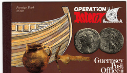 Guernsey Prestige Booklet B47 - Asterix- Un/Mint NHM - Guernesey