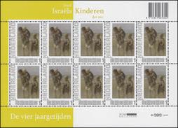 2784 Meine Marke - Kinder Des Meeres 2010 (5x2 Marken) - Kleinbogen I ** - Zonder Classificatie