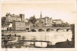 27108. Postal PAU (Pyrenées Atlantiques). Vue Sur Le GAVE - Pau