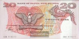 Papua-Guinea Pick-number: 10b Uncirculated 20 Kina - Papua Nuova Guinea