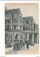 64 EAUX BONNES CONCOURS INTERNATIONAL DE SKIS LE CASINO LE JOUR DU CONCOURS 1908  CPA BON ETAT - Eaux Bonnes
