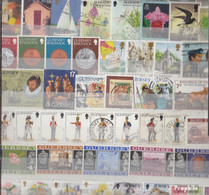Großbritannien Briefmarken-2.000 Verschiedene Marken - Collezioni