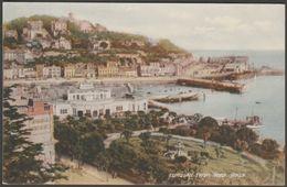 Torquay From Rock Walk, Devon, C.1940s - Postcard - Torquay