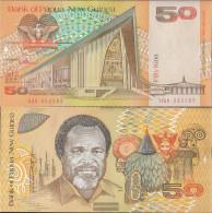 Papua-Guinea Pick-number: 11a Uncirculated 1989 50 Kina - Papua New Guinea