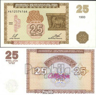 Armenien 34 Bankfrisch 1993 25 Drams - Armenien