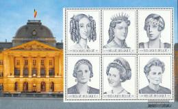 Belgium Block79 (complete Issue) Unmounted Mint / Never Hinged 2001 Queens - Blocks & Sheetlets 1962-....