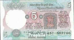 Indien Pick-Nr: 80m Bankfrisch 1985 5 Rupees - Indien