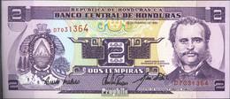 Honduras Pick-Nr: 72c Bankfrisch 1994 2 Lempira - Honduras
