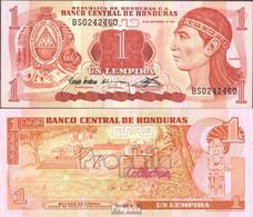 Honduras Pick-Nr: 71 Bankfrisch 1992 1 Lempira - Honduras