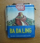 AC - BA DA LING CHINA CIGARETTES UNOPENED BOX FOR COLLECTION - Other