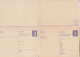 Allemagne Entier Postal  Avec Réponse Neuf - Stamped Stationery