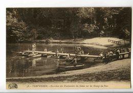 C 54  -  Tervueren  -  Exercices Des Pontonniers Du Génie Sur Les Etangs Du Parc - Tervuren