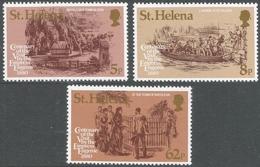 St Helena. 1980 Centenery Of Empress Euginies Visit. MNH Complete Set. SG 358-60 - Saint Helena Island