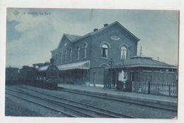 Cpa    Dison Train En Gare  1913 - Dison