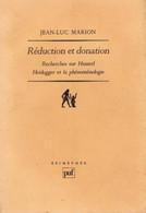 RECHERCHE SUR HUSSERL HEIDEGGER J L Marion 310 P 500 Gr Année: 1989- Etat: TTB - Psychologie/Philosophie