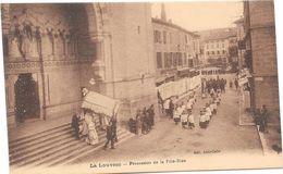 LA LOUVESC Procession De La Fête Dieu - La Louvesc