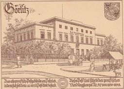 Allemagne Entier Postal  Illustré Repiqué GORLITZ 517 9/1/1938 - Stamped Stationery