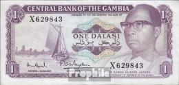 Gambia Pick-Nr: 4f Bankfrisch 1971 1 Dalasi - Gambia