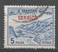 Pakistan 1963. Scott #O79b (U) Khyber Pass - Pakistan