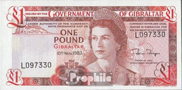 Gibraltar Pick-Nr: 20c Bankfrisch 1983 1 Pound - Gibilterra