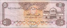 Vereinigte Arabische Emirate Pick-Nr: 7a Bankfrisch 1982 5 Dirhams - Ver. Arab. Emirate