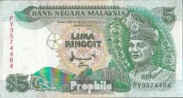 Malaysia Pick-Nr: 28c Bankfrisch 1991 5 Ringgit - Malaysia