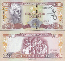 Jamaica Pick-Nr: 91 Bankfrisch 2012 500 Dollars - Jamaica