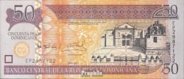 Dominikanische Republik Pick-Nr: 183b Bankfrisch 2011 50 Pesos Oro - Dominicana