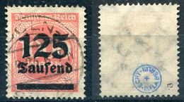 Deutsches Reich Michel-Nr. 291a Gestempelt - Geprüft - Deutschland
