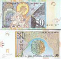 Makedonien Pick-Nr: 15e Bankfrisch 2007 50 Denari - Macedonia