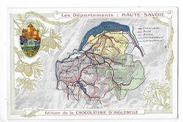 LES  DEPARTEMENTS  -  HAUTE-SAVOIE   - Chromo Chocolaterie D'Aiguebelle -   -  L 1 - Fiches Illustrées