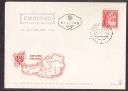 Z63  Austria, Österreich 1962  FDC (Ersttag) - Schloss Porcia In Spittal An Der Drau - FDC