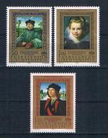 Liechtenstein 1985 Gemälde Mi.Nr. 881/83 Kpl. Satz ** - Neufs
