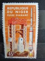 NIGER P.A 1966 Y&T N° 58 à 61 ** - SATELLITES FRANCAIS - Niger (1960-...)
