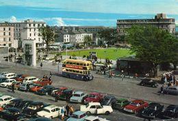 Irlande Galway Très Animée Belle Vue De La Ville Autobus Voitures - Galway