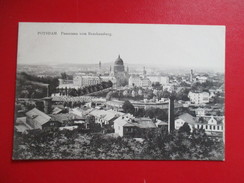 CPA ALLEMAGNE POSTDAM PANORAMA VOM BRAUHAUSBERG - Potsdam