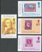 St Helena. 1979 Death Centenary Of Sir Rowland Hill. MH Complete Set. SG 351-354 - Saint Helena Island