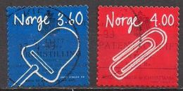 Norwegen  (1999)  Mi.Nr.  1299 + 1300  Gest. / Used  (15eu02) - Gebraucht