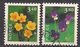 Norwegen  (1998)  Mi.Nr.  1269 + 1270  Gest. / Used  (15eu08) - Gebraucht