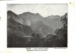 CORSE - Ligne De Chemin De Fer D'AJACCIO à BASTIA - Vue De BOCOGNANO - - Autres Communes