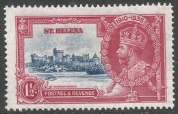 St Helena. 1935 KGV Silver Jubilee. 1½d MH. SG 124 - Saint Helena Island