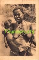 CPA AFRIQUE EQUATORIALE FRANCAISE CONGO FRANCAIS FEMME ET SON ENFANT NU NUE NUDE LADY RENE MOREAU - Congo Français - Autres