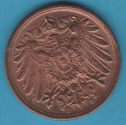 DEUTSCHES REICH 2 PFENNIG 1916 F KM# 16 Wilhelm II - [ 2] 1871-1918 : Imperio Alemán